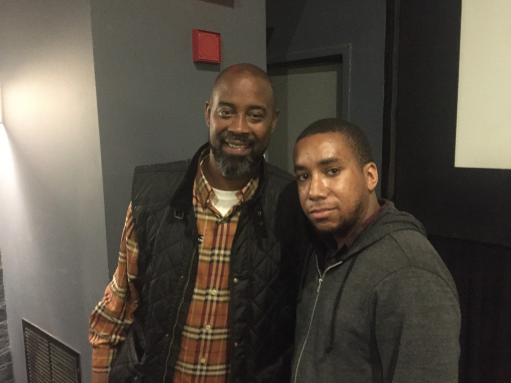 Ed Easton Jr & Former NBA All-Star Kenny Anderson